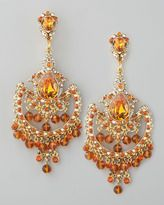 JOSE AND MARIA BARREARA BLOOMINGDALES | ... earrings yellow gold-jose maria barrera topazcolored drop earrings