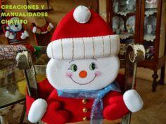 """Creaciones y Manualidades """"Chayito"""": adornos navideños 2013 cubre ..."""