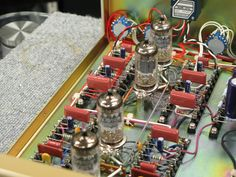 Audiophile Speakers, Hifi Audio, Valve Amplifier, Radio Design, Sound Stage, Vacuum Tube, Electronic Art, Guitar Amp, Electronics Projects