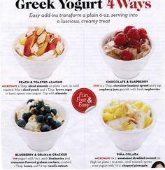 Different ways to Greek Yogurt - Good Housekeeping Magazine