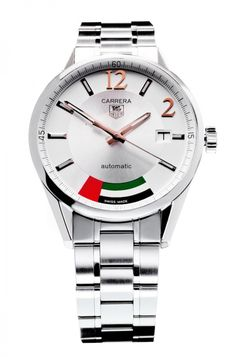 TAG Heuer Carrera Calibre 5 UAE Limited Edition - TAG Heuer is launching an exclusive variant of its epic Carrera Calibre 5, which honors the land the people of United Arab Emirates.