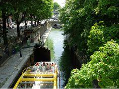 Ecluse Canal De L'Ourcq, Paris
