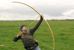 """Mark Stretton American yew bow not very dense. the draw weight is 120lb, it is 82"""" long"""