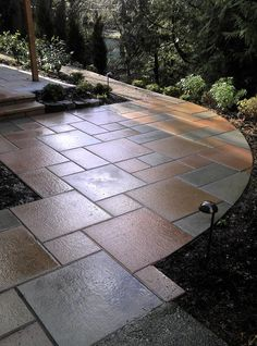 Paver Size For Next To The Driveway To The Gate On The West Side Of The