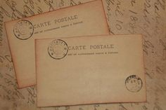 50 Vintage Post Card Wedding Place Cards - Wedding  Escort Cards - Wedding Placecards