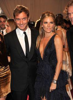 Sienna Miller and Jude Law MET Gala