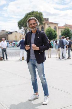 laragosta:  Marco Zambaldo @ Pitti Uomo.  Raddest Looks On The Internet: http://www.raddestlooks.net