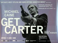 You and I are a lot like Michael Caine's character, Jack Carter ,in the brilliant 1971 film noir , Get Carter . Jack Carter is o...
