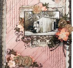 Layout created with the Swirlydoos November Scrapbook Kit.