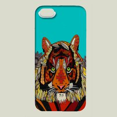 tiger chief iPhone case by scrummy on BoomBoomPrints