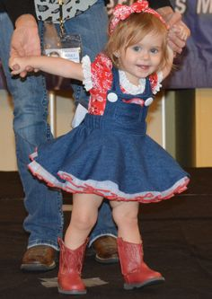 KYNIDEE MIDDLETON TINY MISS SAN ANTONIO WESTERN WEAR