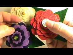 How To Make Beautiful and Versatile Felt Flowers