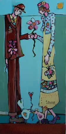 Welcome to the on-line gallery for Canadian artist Genevieve Pfeiffer. Art with a narrative, whimsical and imaginative approach. First Art, First Love, Canadian Artists, Pablo Picasso, Whimsical, Watercolor, Gallery, Drawings, Paintings