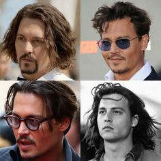 Finding The Best Short Haircuts For Men Quiff Hairstyles, Funky Hairstyles, Hairstyle Men, Formal Hairstyles, Teen Boy Haircuts, Best Short Haircuts, Johnny Depp Public Enemies, Pompadour, Johnny Depp Hairstyle