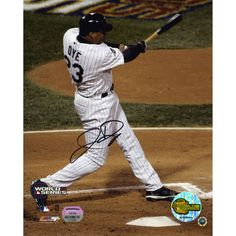 "Jermaine Dye Chicago White Sox Fanatics Authentic Autographed 8"" x 10"" 2005 World Series Vertical Photograph - $69.99"