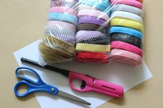 Make your own elastic no crease hair tie!