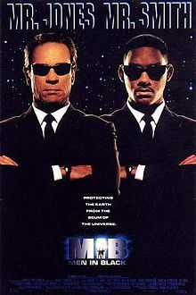 Men in Black is a 1997 science fiction comedy film directed by Barry Sonnenfeld, starring Tommy Lee Jones, Will Smith, Linda Fiorentino, Vincent D'Onofrio, Rip Torn and Tony Shalhoub.