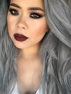 #TheBeautyBoard Makeup of the Day: Sultry eyes, bold lip by KdeMUA7. Upload your look to gallery.sephora.com for the chance to be featured! #Sephora #MOTD