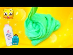 How To Make Slime with Baby Powder and Shampoo without Glue! DIY Slime  without Glue by JellyRainbow! In this how to make slime with baby powder,  water, ...