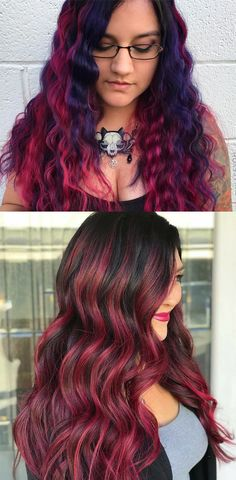 Best red hair colors for fashionable women and girls in 2017 Especially for those who have naturally long hair textures or want to grow their hair long. Hair Color Highlights, Red Hair Color, Cool Hair Color, Hair Colors, Red Hair Inspo, Red Hair Inspiration, Girl Hairstyles, Hairstyles 2018, Long Red Hair