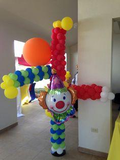 Upside down clown