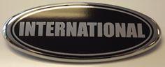 Ford International Overlay Emblem Decals WebXtremes.com