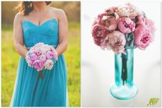 Ramo Novia Peonias rosas Mayula Flores