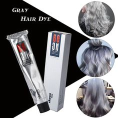 Cheap dye hair cream, Buy Quality hair cream directly from China cream hair color Suppliers: 100ml Professionalize Permanent Super Dye Hair Cream Hair Color Non-toxic DIY Hair Style Grey Coloring Personal Light Gray Color