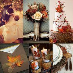 Sonbahar gelinleri için en güzel düğün konsepti sonbaharın kendisidir. Düğün dekorasyonunuzda sonbaharın renkleri olan sarı, turuncu, kahverengi ve bordo tonlarını tercih edebilirsiniz.