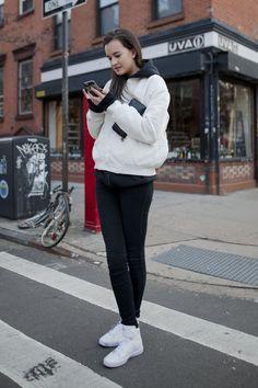 【ELLEgirl】Carly(23)/セールス 【STREET STYLE】ニューヨークスナップ エル・ガール・オンライン