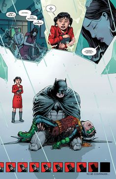 R.I.P. Damian Wayne you were starting to be such a good human.