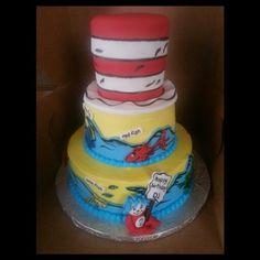 Dr. Seuss Cake made by Kakes By Kena