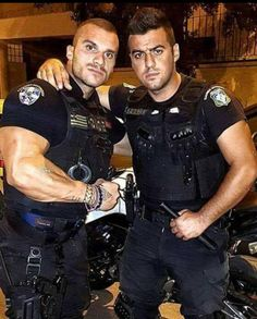 Most of the time, people attempting to become police officers focus on the written and oral exam portion of the tests. Hot Cops, Cop Uniform, Men In Uniform, Muscle Hunks, Muscle Men, Muscle Body, Sexy Military Men, Bear Men, Police Officer