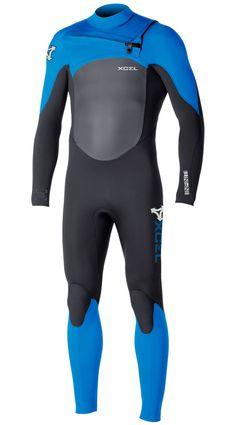 Xcel Mens Wetsuit Infiniti X2 TDC 3/2mm Fullsuit