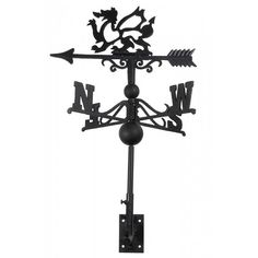 Gwyddion Keep Welsh Dragon Weathervane Large by BensCountryForge Welsh Dragon, Weather Vanes, Cast Iron, Traditional, Unique Jewelry, Pride, Range, Country, Coat