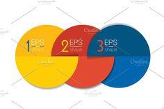 Three business elements. Illustrations