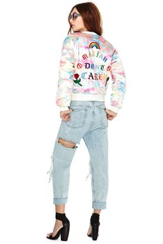 UNIF Don't Carey Bomber Jacket | Shop Jackets + Coats at Nasty Gal