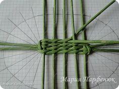 Papírfonás: ovális alap készítése - Színes Ötletek Paper Flowers Diy, Master Class, Basket Weaving, Plant Hanger, Rattan, Macrame, Paper Crafts, Newspaper, Paper Mache