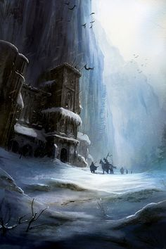 The Wall by Marc Simonetti ~ Game of Thrones Art