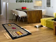 Miami Heat NBA Large Court Runner 29.5x54 by Fanmats. $29.75. Miami Heat NBA Large Court Runner 29.5x54Support your favorite NBA team with these basketball court-shaped runners by FANMATS. Made in U.S.A. 100% nylon carpet and non-skid recycled vinyl backing. Machine washable. Officially licensed. Chromojet printed in true team colors. Please note: These products are custom made. The normal lead time is about 7-10 business days. However, the putting mats and carpet tiles do take a...