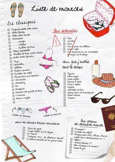 Liste de vacances