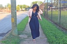 BeautyFash {from Sequins to Cilantro!}: Workwear: Blushing Navy