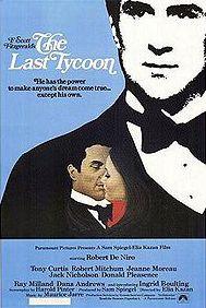 The Last Tycoon (1976), movie illustration by Richard Amsel