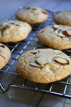 Αμυγδαλωτά … Amygdalota: Greek Almond Cookies- Kali Orexi
