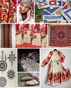 While preparing our workshops for the fall, I've had knitting and weaving and family tradition swirling around in my head. Folklore, Folk Costume, Costumes, Ethno Style, Textiles Techniques, Austro Hungarian, World Of Color, My Heritage, Croatian Language