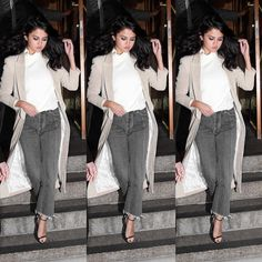 Casual photoshoot in the streets of NYC #selenagomez