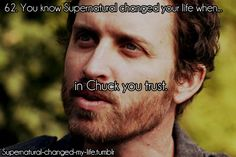 62. You know Supernatural changed your life when... | Submitted by: flexing-my-wings