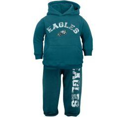 Philadelphia Eagles Preschool Girls 2-Piece Crew T-Shirt & Leggins ...
