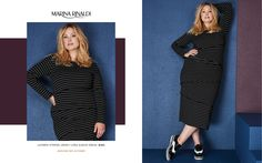 Toni Plus Fall 2017 Look Book Plus Size Designer Fashion Marina Rinaldi www.toniplus.com