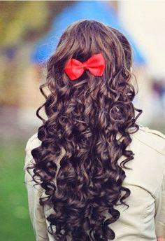 girls hair styles, curly hair